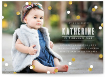 Confetti Kids Party Invitations