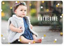 Confetti Children's Birthday Party Invitations