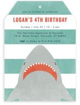 Fin-Tastic Children's Birthday Party Invitations