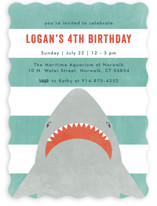 Fin-Tastic Children's Birthday Party Invitations