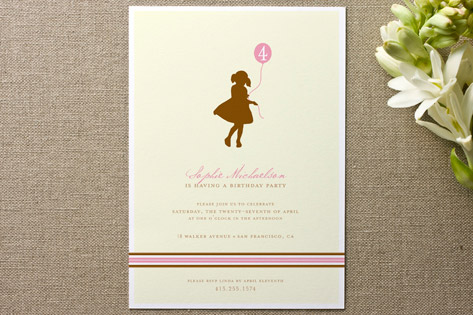 It's my party Children's Birthday Party Invitations