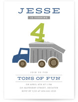 Tons Of Fun Children's Birthday Party Invitations