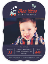 Party Train Children's Birthday Party Invitations