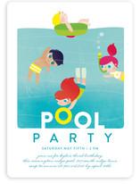 Pool Children's Birthday Party Invitations