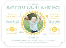 Sunny Days Children's Birthday Party Invitations