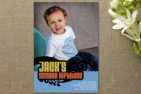 Oceania Children's Birthday Party Invitations