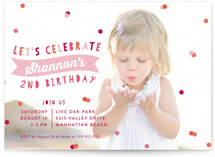 Birthday Celebration Children's Birthday Party Invitations