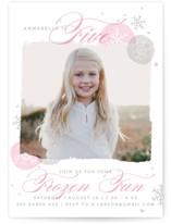 Frozen Birthday Fun Children's Birthday Party Invitations