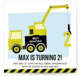 The Construction Co. Children's Birthday Party Invitations