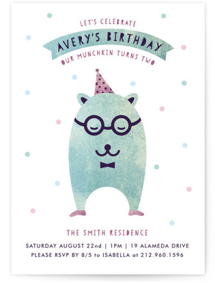 Munchkin Children's Birthday Party Invitations