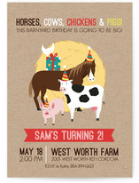 Barnyard Birthday