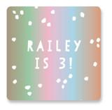 Scoop Children's Birthday Party Stickers