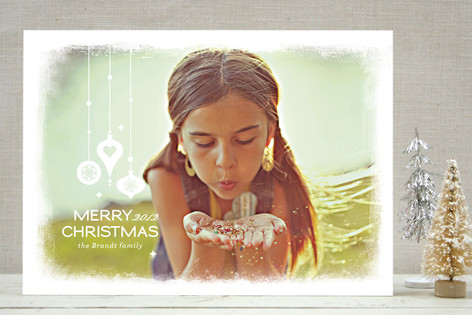 Merry Ornaments Christmas Photo Cards