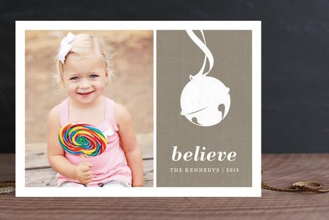 Sleigh Bell Christmas Photo Cards