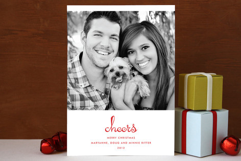 Pure Cheer Christmas Photo Cards