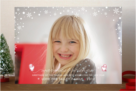 Let it Snow Christmas Photo Cards