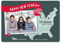 Holiday Map - East Coast