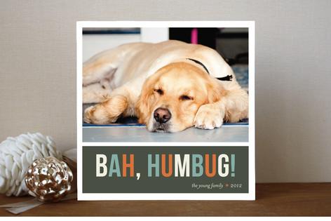 Bah Humbug Christmas Photo Cards