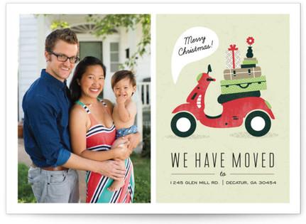 Mod Move Christmas Photo Cards
