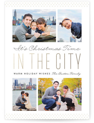 In The City Christmas Photo...