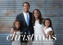 Reason For The Season Christmas Photo Cards