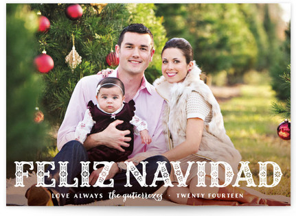 Feliz Navidad! Christmas Photo Cards