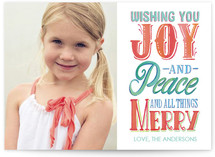 Joy Peace and All Things Merry