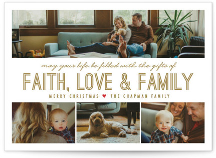 A Family Affair Christmas Photo Cards