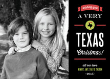 Texas Christmas Christmas Photo Cards