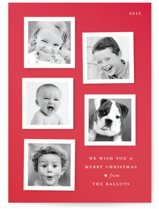 A Merry Mystery Christmas Photo Cards