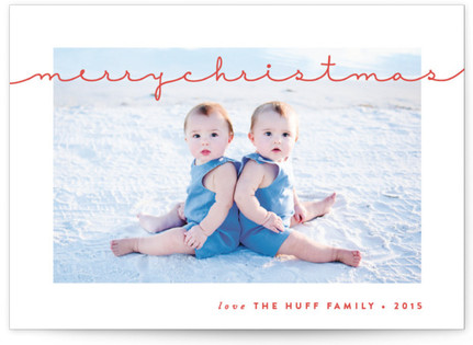 Gallery Frame Christmas Photo Cards