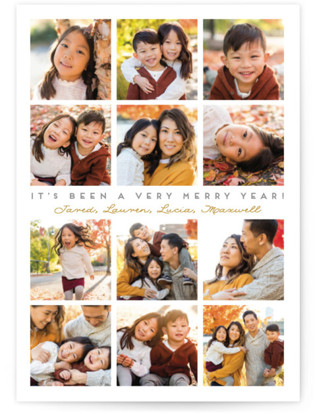 A Very Merry Year Christmas Photo Cards