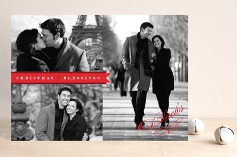 Christmas Banner Christmas Photo Cards