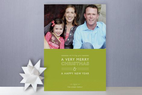 Layered Cake Christmas Photo Cards