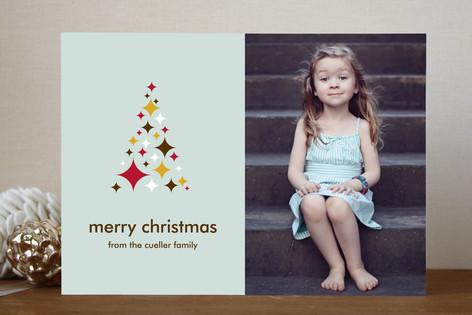 O Starry Tree Christmas Photo Cards