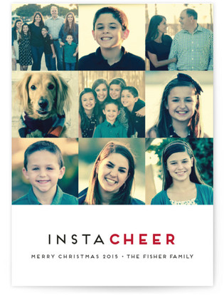 InstaCheer Christmas Photo Cards