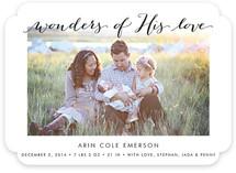 Wonders of His Love
