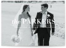 The Newlyweds Christmas Photo Cards
