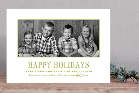 Engravers Christmas Photo Cards