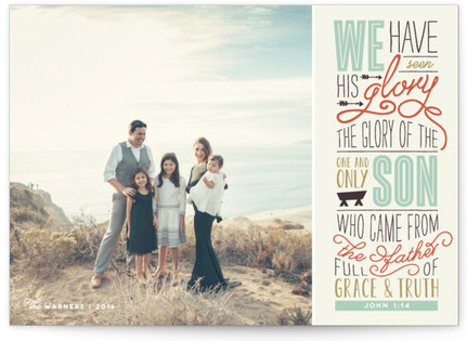 John 1:14 Christmas Photo Cards