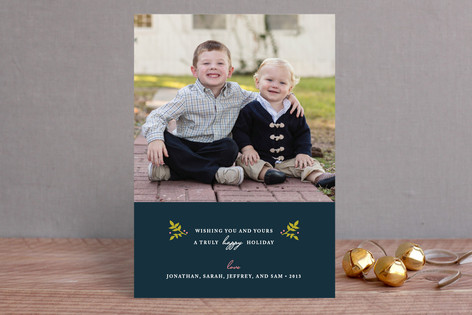 Christmas Blessings Christmas Photo Cards