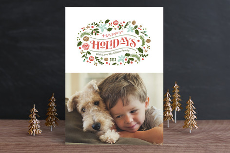 Laurel of Greens Christmas Photo Cards