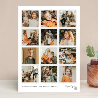 A Year in My Life Christmas Photo Cards
