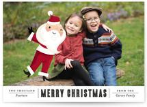 Santa Photo Bomb