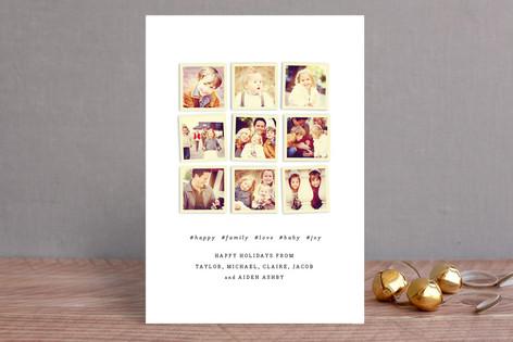 Insta-grid Christmas Photo Cards