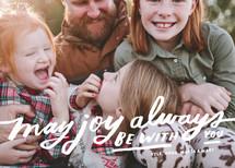 Joy Always Be Christmas Photo Cards