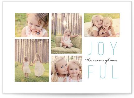 Joyful Multi Christmas Photo Cards