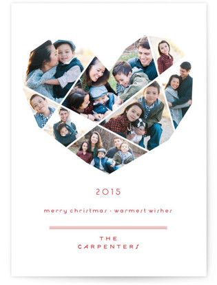 Complete Love Christmas Photo Cards