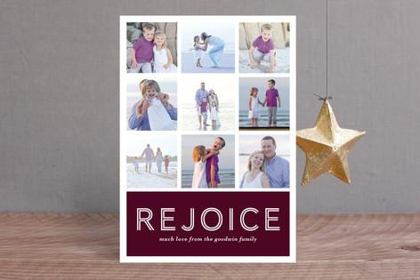 Multi-Peace Christmas Photo Cards