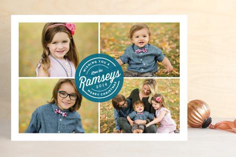 Signed & Sealed Christmas Photo Cards